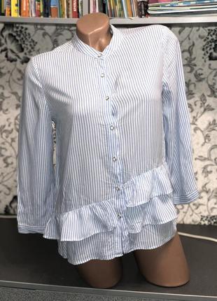 Шикарная рубашка zara s-m