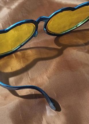 Большие очки карнавальные