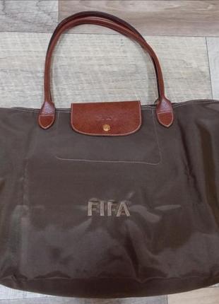 Longchamp фирменная лимитированная сумка хобо