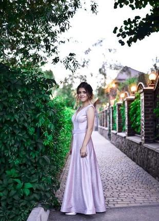 Элегантное вечернее платье и туфли в тон(: