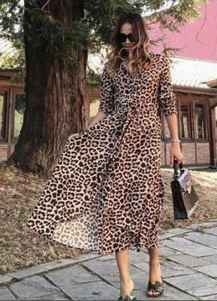 Эффектное платье от zara