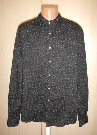 Рубашка воротник стойка orso store p.xxl хлопок