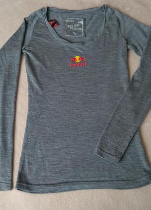 Термореглан з мериносової вовни термо футболка лонгслив термобілизна термобелье шерсть мериноса