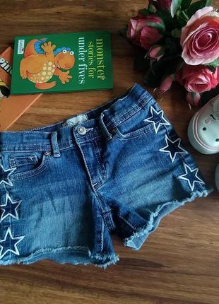 Модные стрейчевые джинсовые шорты jordache на 5 лет.