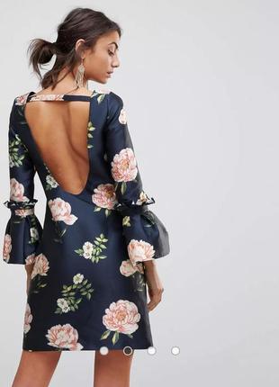 Платье chi chi london в цветы