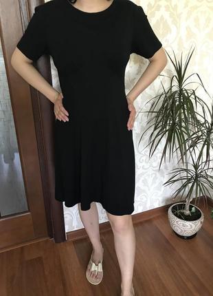 Маленькое чёрное платье свободного кроя asos