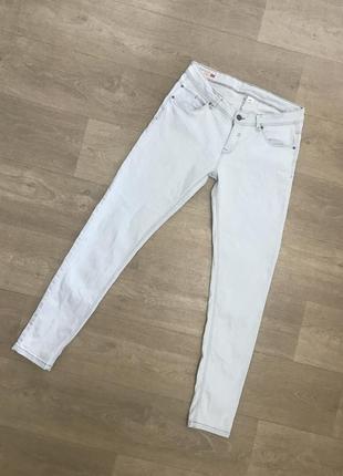 🍀нежно голубые джинсы скины