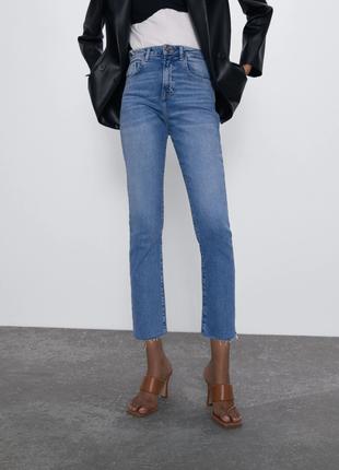 Винтажные джинсы  высокая посадка от zara