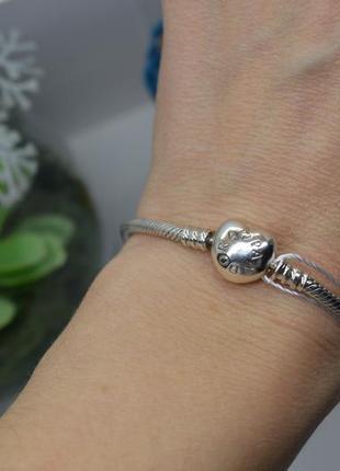 Срібний #браслет #pandora #пандора #на_руку #унісекс #925