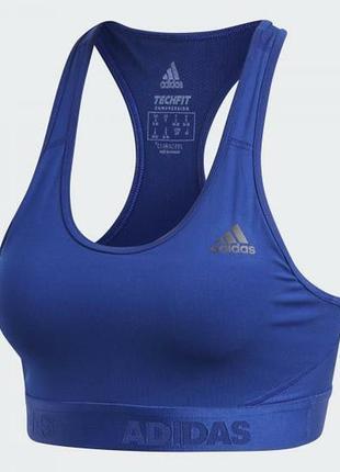 Adidas спортивный топ бра. оригинал