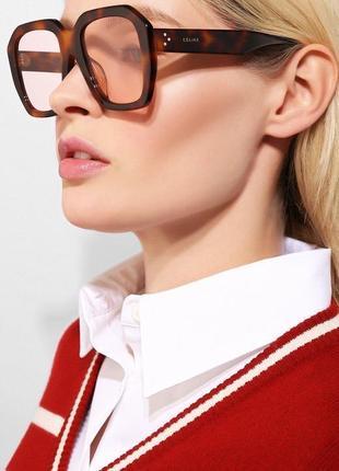 Celine оригинал солнцезащитные очки большие