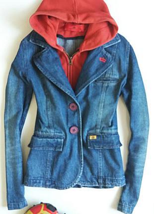 Джинсовый пиджак -куртка 🍁🍁🍁👍