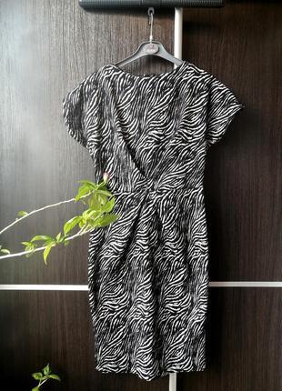 Шикарное платье сукня, фактурная ткань. хлопок. next