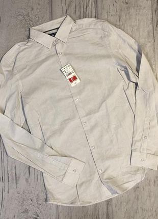 Рубашка сорочка котон kiabi франція розмір євро s наш 48-50
