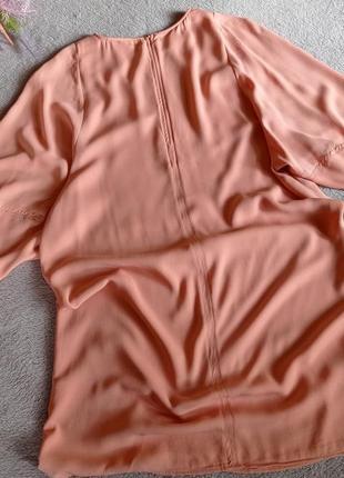Персиковое платье weekday3 фото