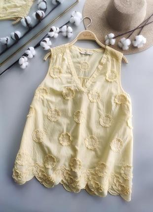 Натуральная, лёгкая, очень красивая блуза