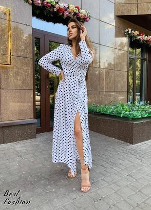 Платье в горошек2 фото