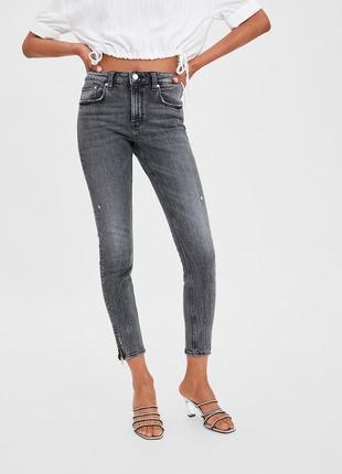 Zara джинсы скинни