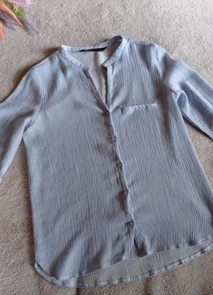 Жатая блуза