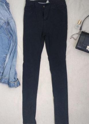 Чёрные джинсы skinny