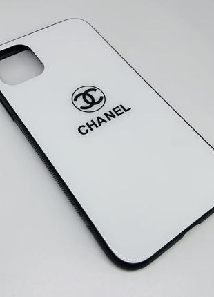 Чехол iphone 11 с надписью белый