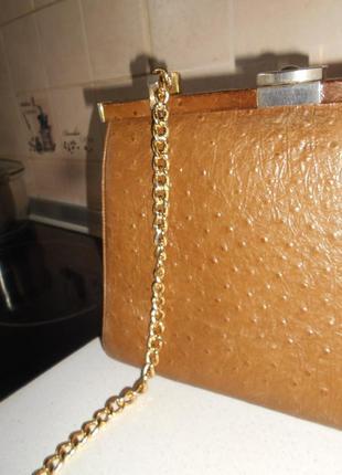 #винтажная статусная добротная  большая кожаная сумка #