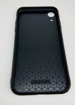 Чехол на айфон xr чёрный очень красивый ❤️ удобный 👍4 фото