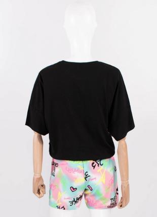 Женский/молодёжный/подростковый летний костюм с шортами,размеры: s, m, l, xl3 фото