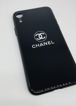 Чехол на айфон xr чёрный очень красивый ❤️