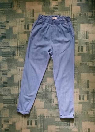Брюки джинсы летние свободные