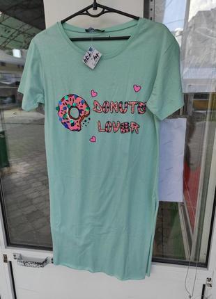 Платье туника сарафан футболка1 фото