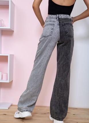 Купить джинсы женские цвет серый недорого2 фото