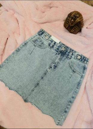 🌸стильна,класна джинсова спідниця🌸