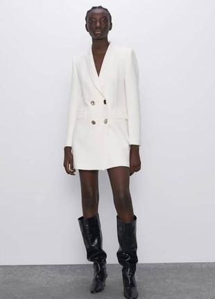 Платье  - пиджак zara