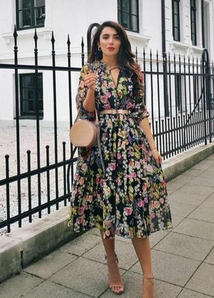 Платье zara свободное новое
