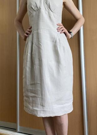 Платье натуральный лён