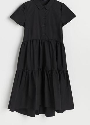 Платье рубашка с карманами , р.м, новое