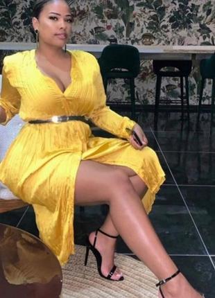 Шикарное платье - рубашка