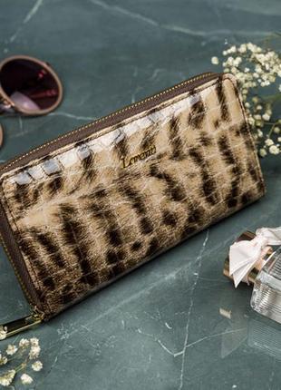 Кожаный женский кошелёк натуральная кожа