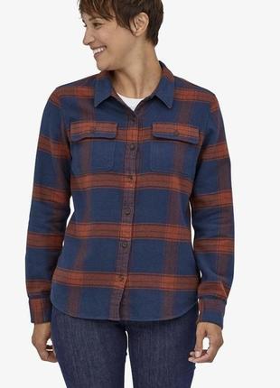 Рубашка женская patagonia, сорочка жіноча, органический хлопок, патагония