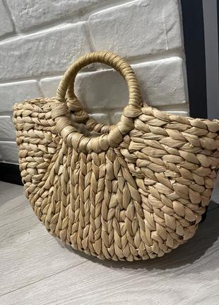 Плетёная сумка