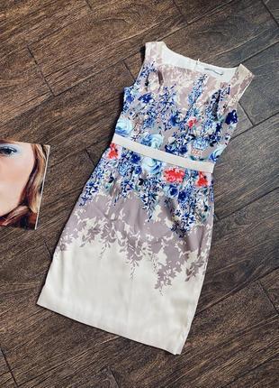 Очень красивое нежное цветочное платье
