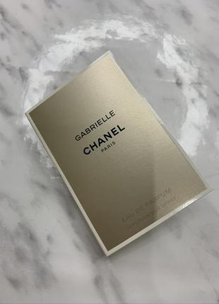 Chanel пробник парфюма