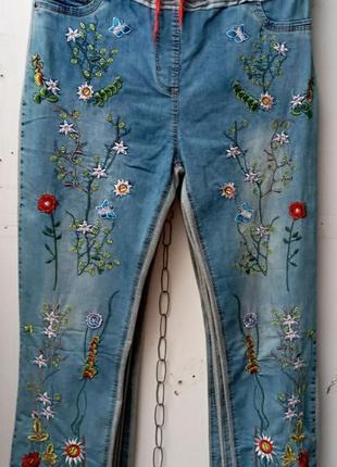 Жіночі джинси тонкие тоненьки туреччина великого розміру большого размера батал женские турецкие турция джинс коттоновые джинсы шорты джинсовые брюки