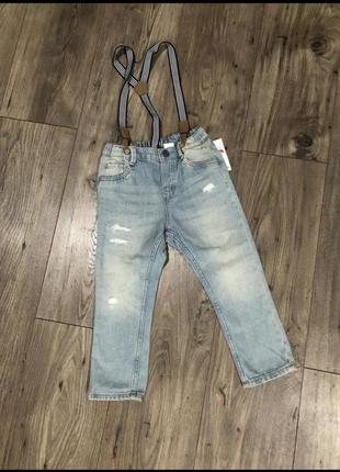Супер стильні джинси h&m на ріст 98