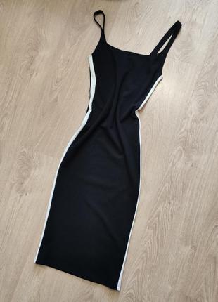 Платье миди bershka