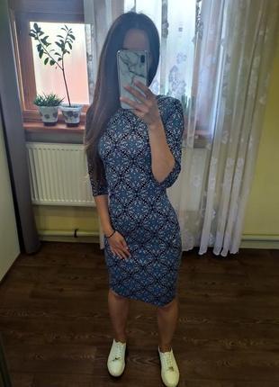 Миди-платье 💙👤