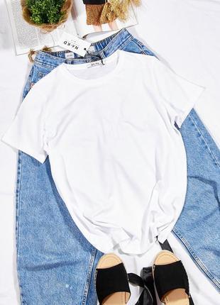 Базовая футболка белая