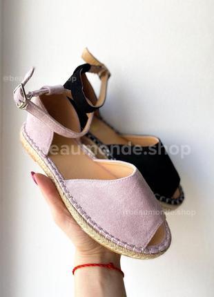 Новые черные фиолетовые лавандовые босоножки сандалии