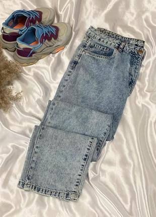 Классные джинсы мом большого размера next 1+1=3